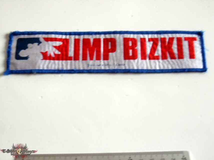 Limp Bizkit stripe patch official 2001  patch used378