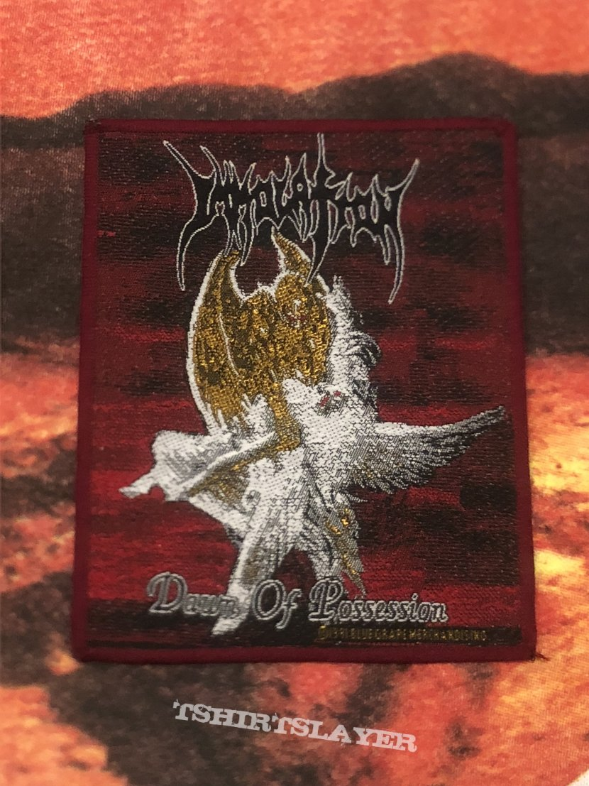 Immolation- Dawn of Possession patch (red border)