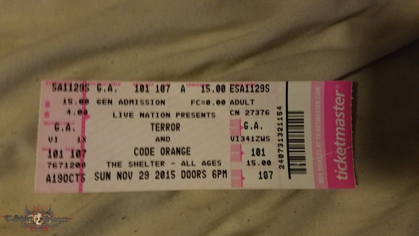 25th Hour Tour Ticket