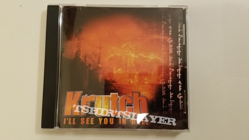Krutch - I'll See You In Hell CD