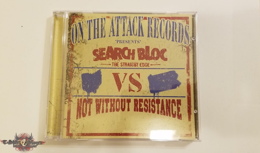 Search Bloc VS. Not Without Resistance Split CD