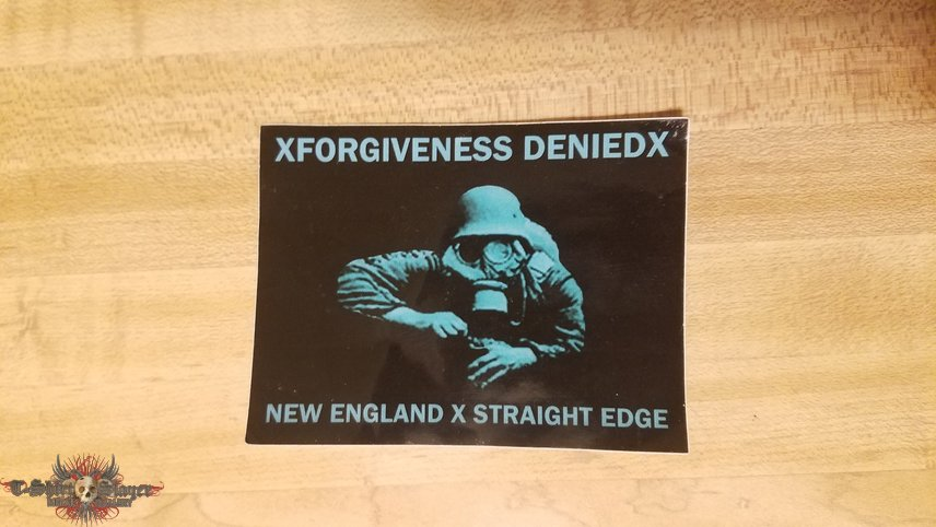 XForgiveness DeniedX sticker