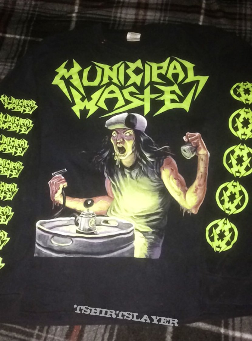 Municipal Waste art of partying long sleeve