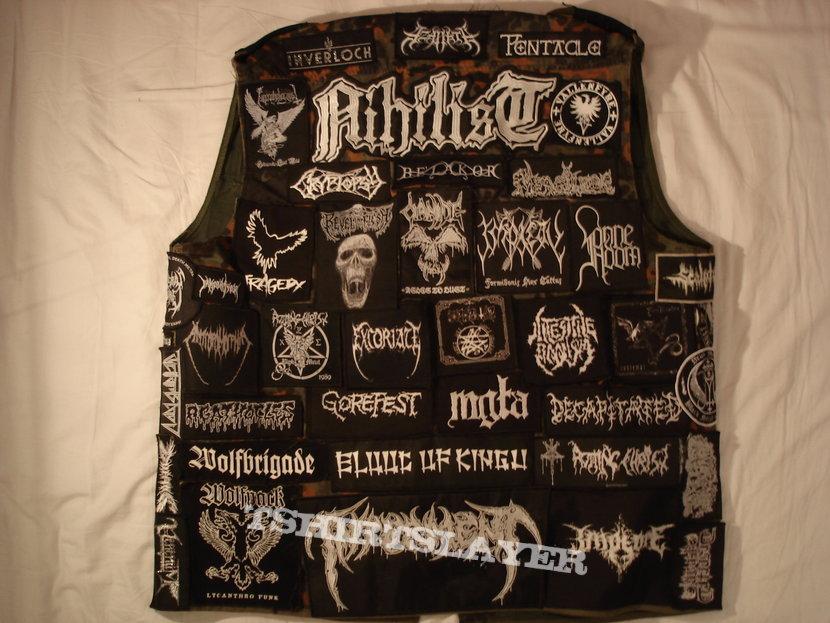 Kutte/Battle Vest. (Death/Doom/Black/Grind/Crust etc)