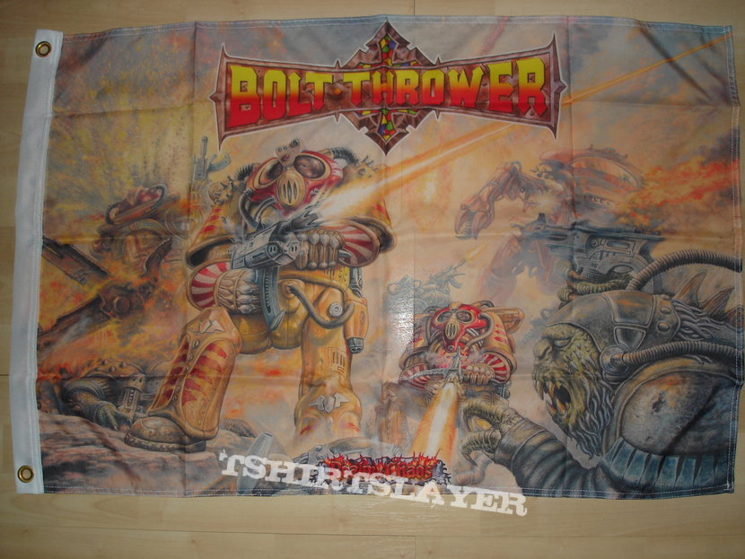 Bolt Thrower - Realm of Chaos Flag