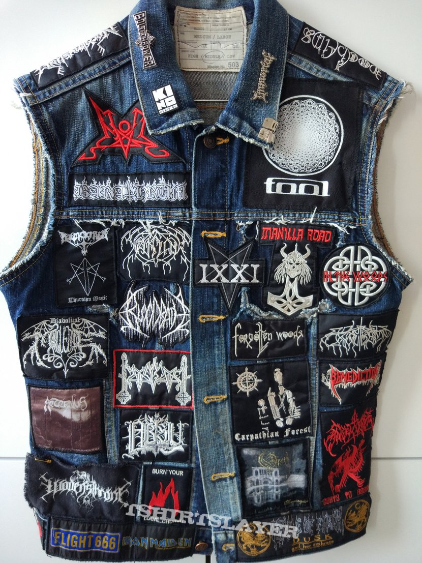 my first and current vest