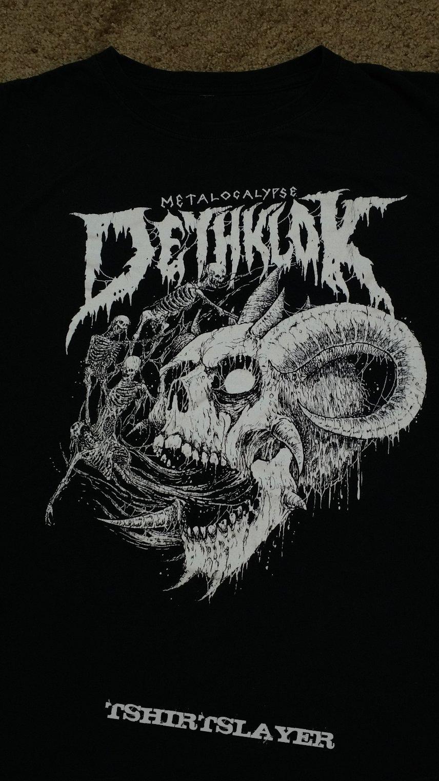 dethklok tour shirt