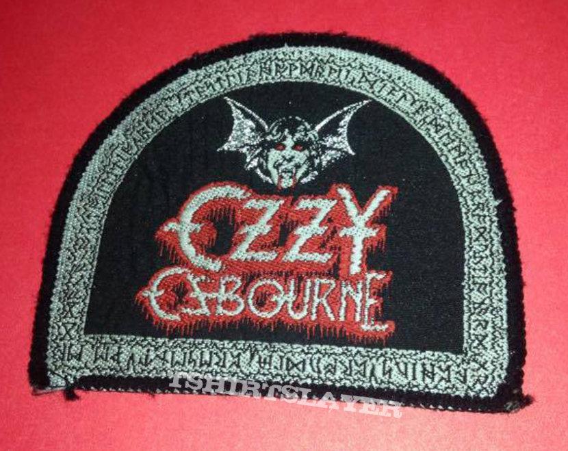 Original Ozzy patch