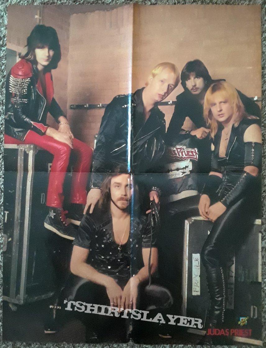 JUDAS PRIEST- posters/magazines