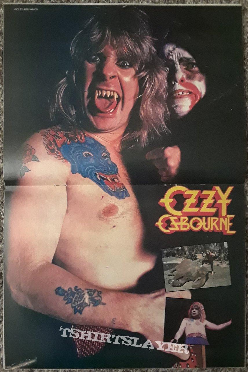 OZZY- posters/etc.