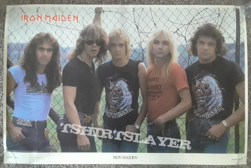 IRON MAIDEN- (Dianno/Stratton) posters/magazines/etc.
