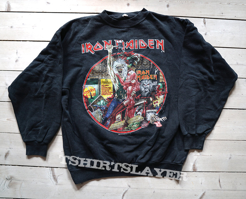 "Iron Maiden - ""Bring Your Daughter To The Slaughter"" 1990 tour sweater"