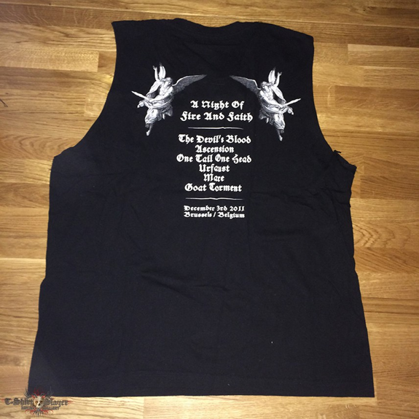 """Ascension """"With Burning Tongues"""" event shirt - RARE"""