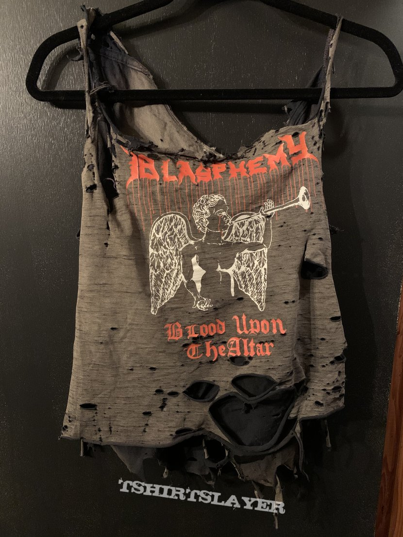 "rotten BLASPHEMY ""Blood Upon The Altar"" shirt"