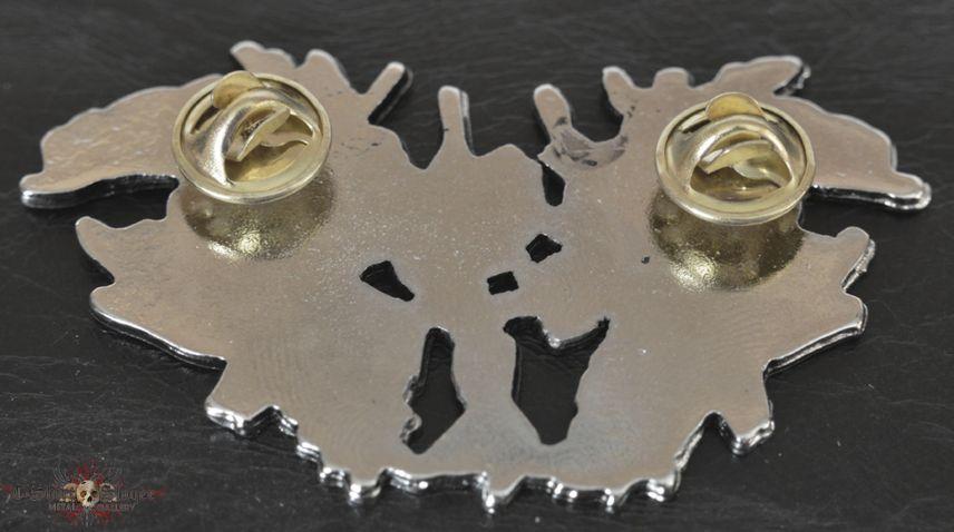 Moloch (metal logo pin/badge)