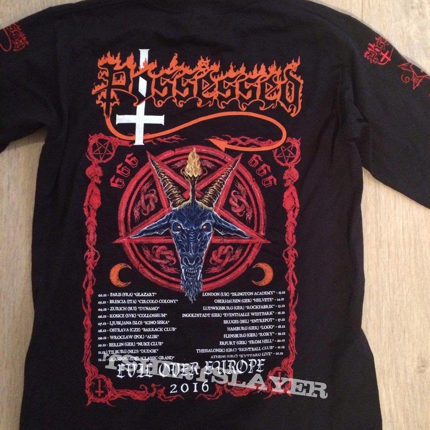 Possessed - Evil Over Europe tour