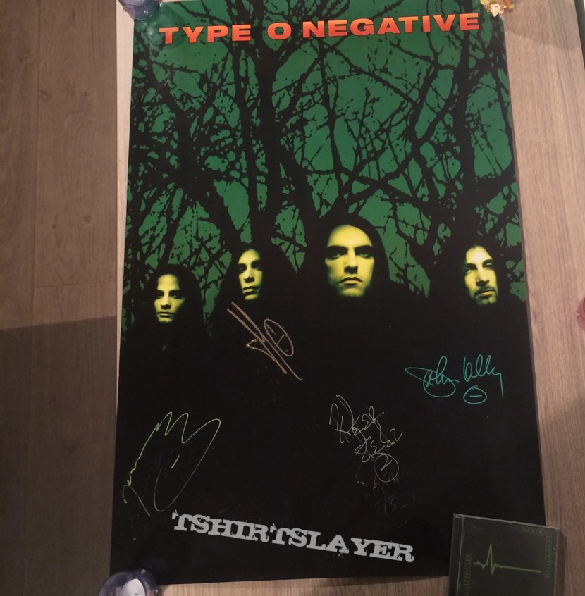 Type O Negative - Signed October Rust poster