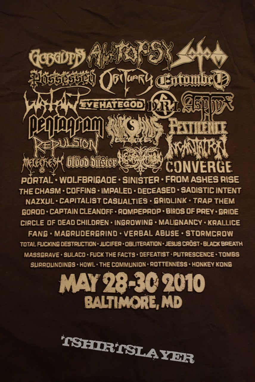 Maryland Deathfest 2010