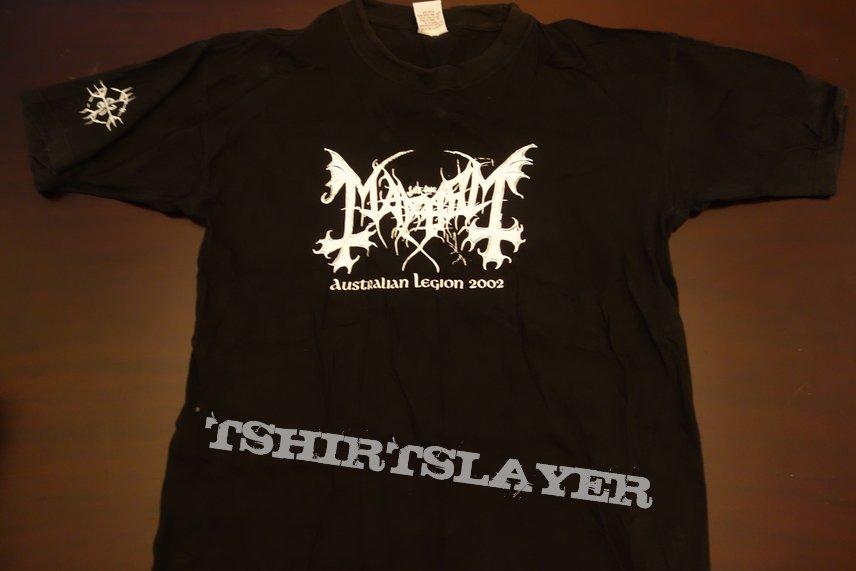 Mayhem - Australian tour 2002