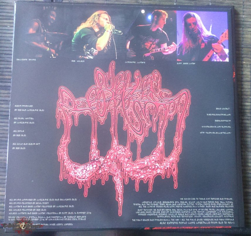 Sublime Cadaveric Decomposition Raping angels in hell