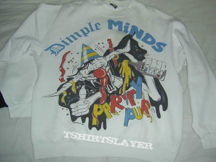 Dimple Minds Sweatshirt Party Pur Tour 92