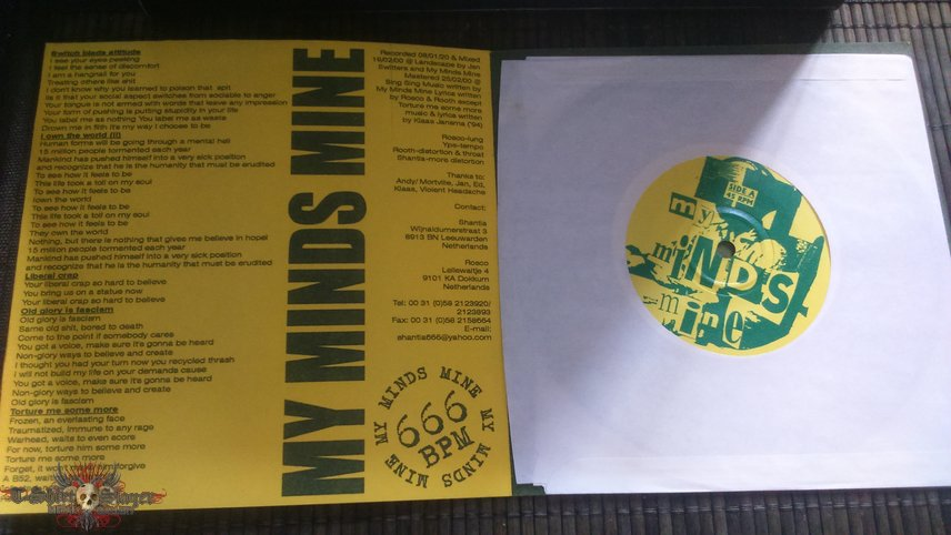 My Minds Mine / Violent Headache Split