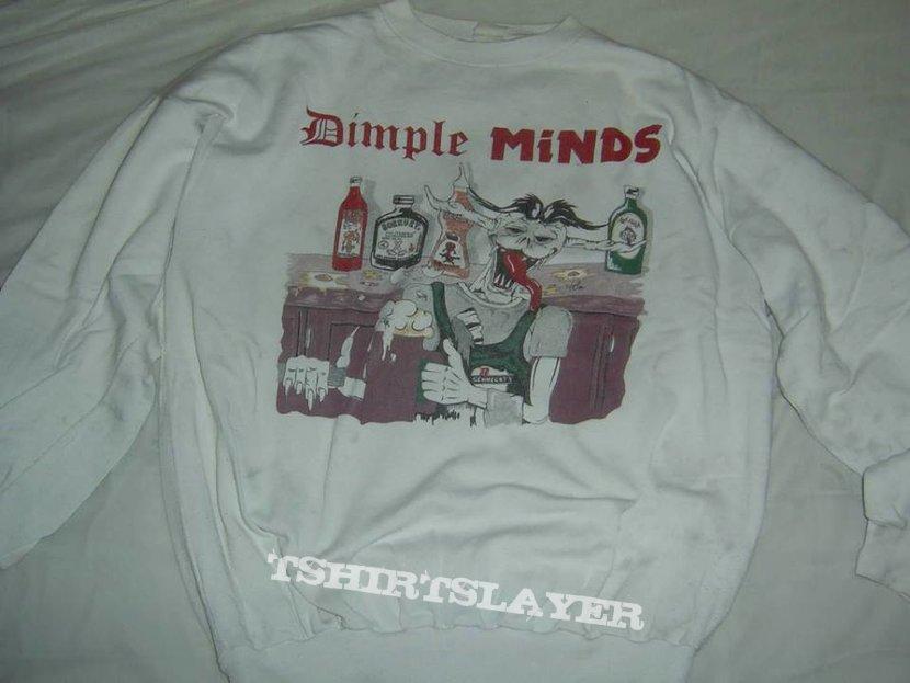 Dimple Minds Sweatshirt Durstige Männer