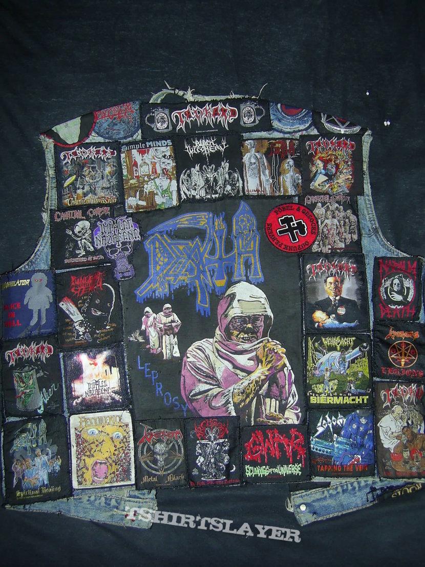 Battle Jacket Death Leprosy BP