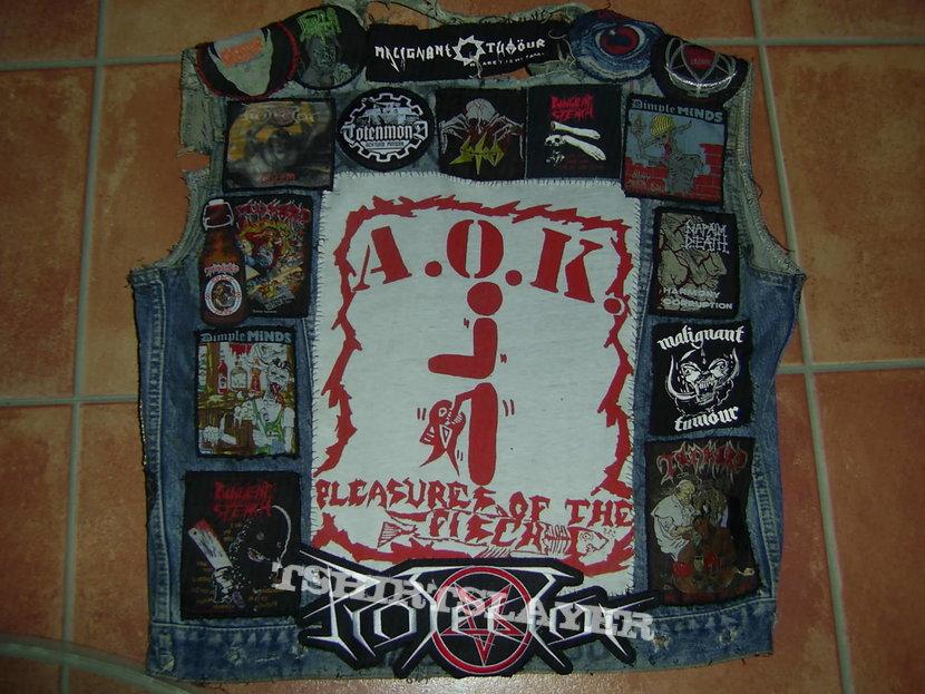 Battle Jacket with DIY A.O.K. BP