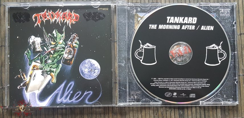 Tankard The morning after / Alien