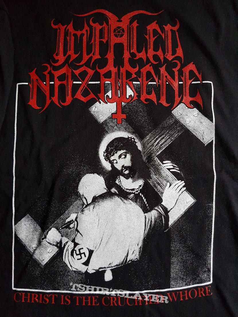 Impaled Nazarene Christ is the crucified whore