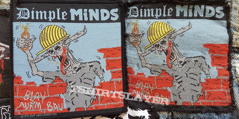 Dimple Minds Blau auf`m Bau
