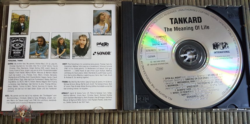 Tankard The meaning of life
