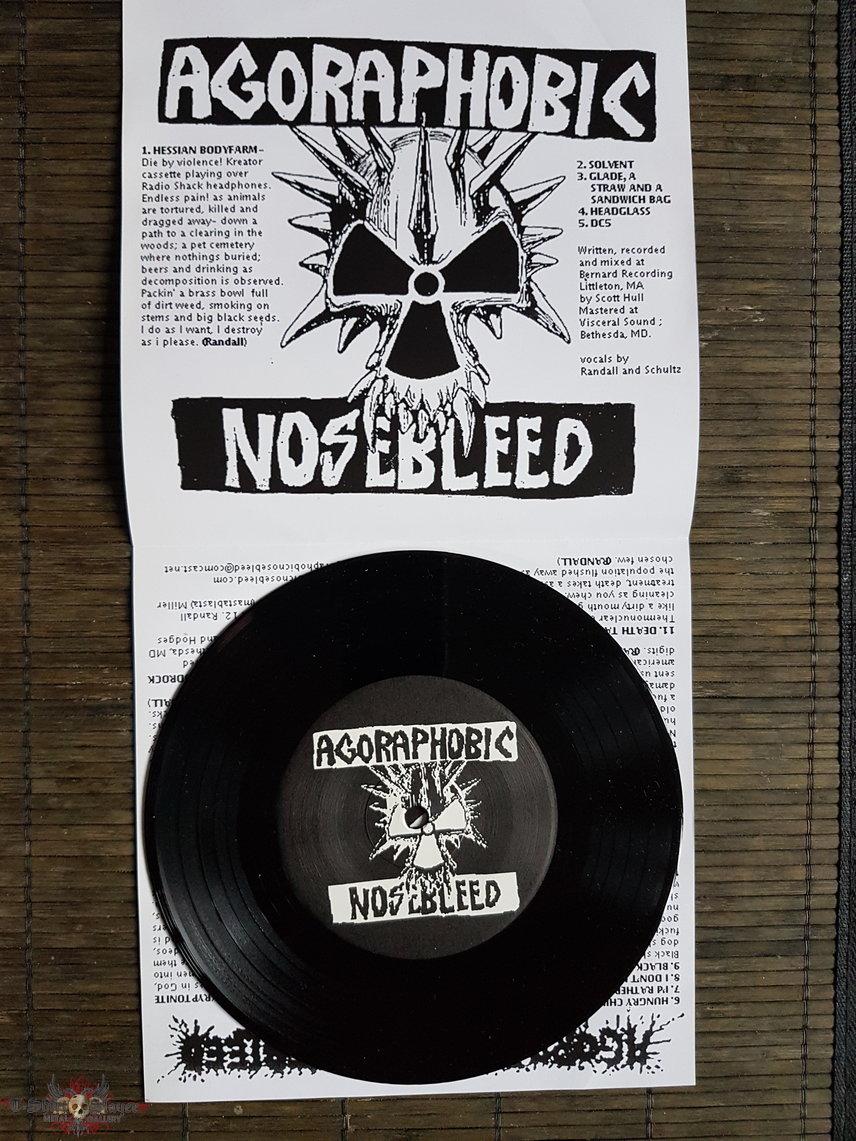 Agoraphobic Nosebleed The glue that bind us