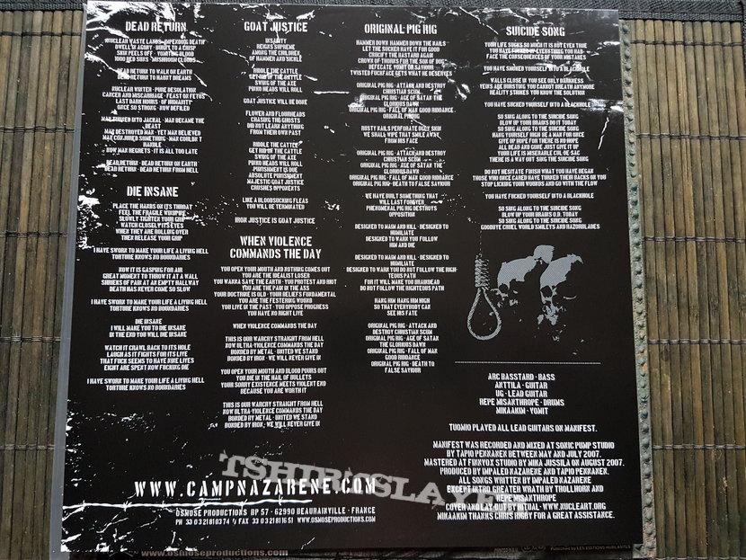 Impaled Nazarene Manifest