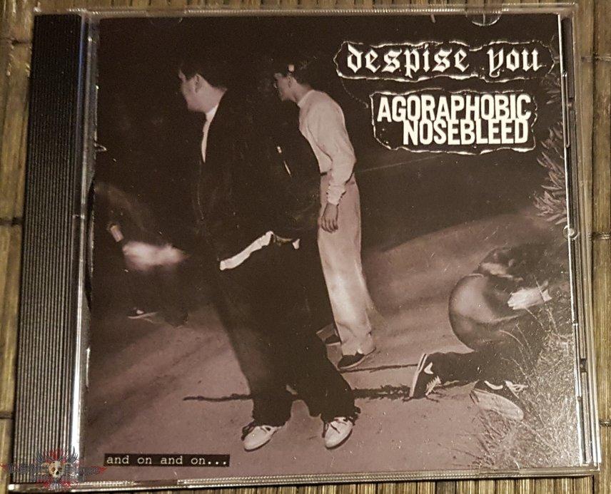 Agoraphobic Nosebleed / Despise You Split