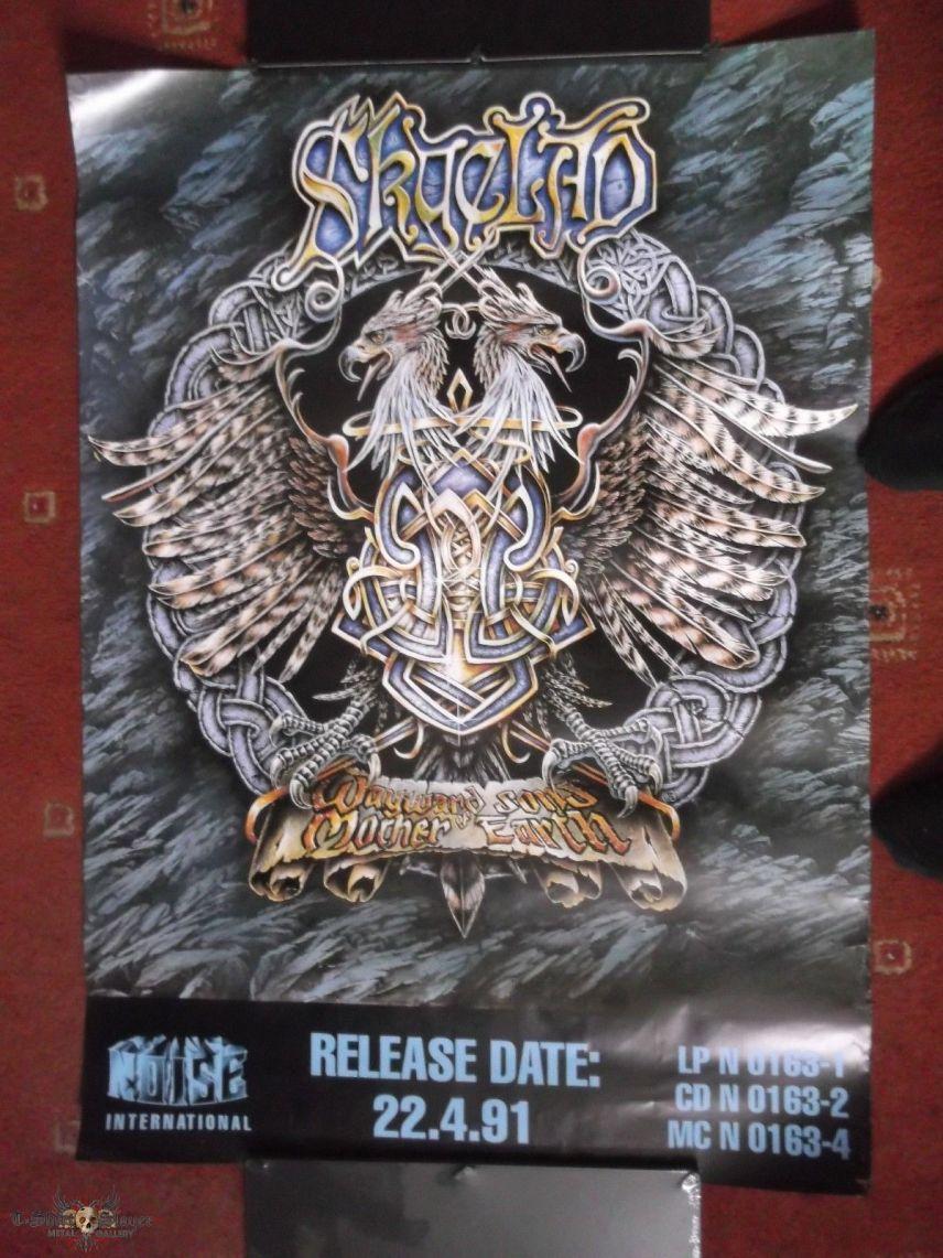 Skyclad The Wayward Sons album release poster