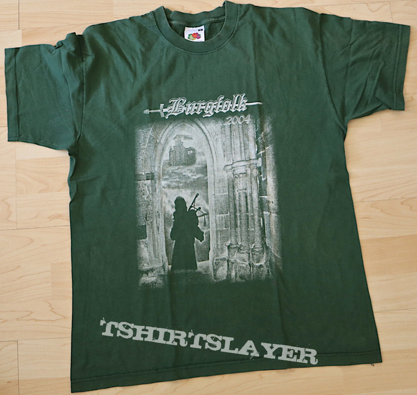 Burgfolk 2004 t-shirt