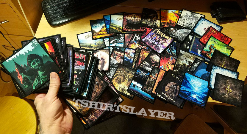 Collection Hell Metal Printed Patches