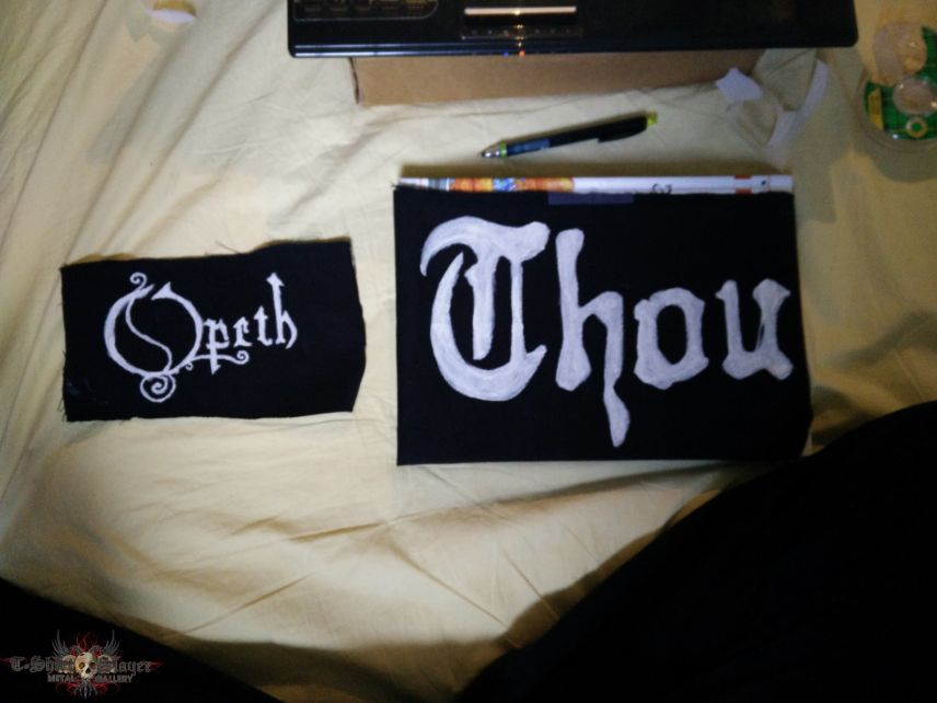 DIY/Hand painted patches -- Thoughts?