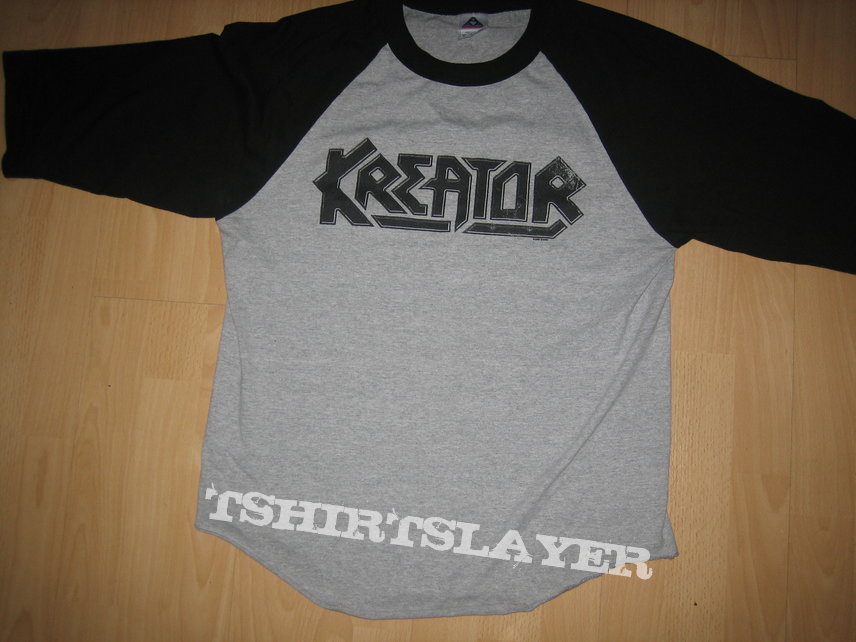 Kreator Baseball Shirt