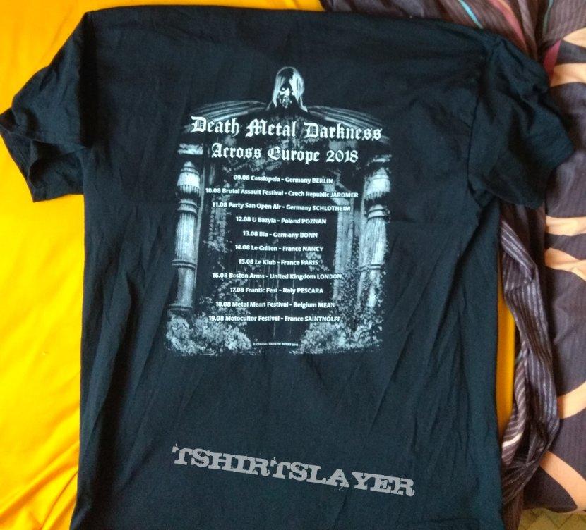 Sadistic Intent Death Metal Darkness tour shirt