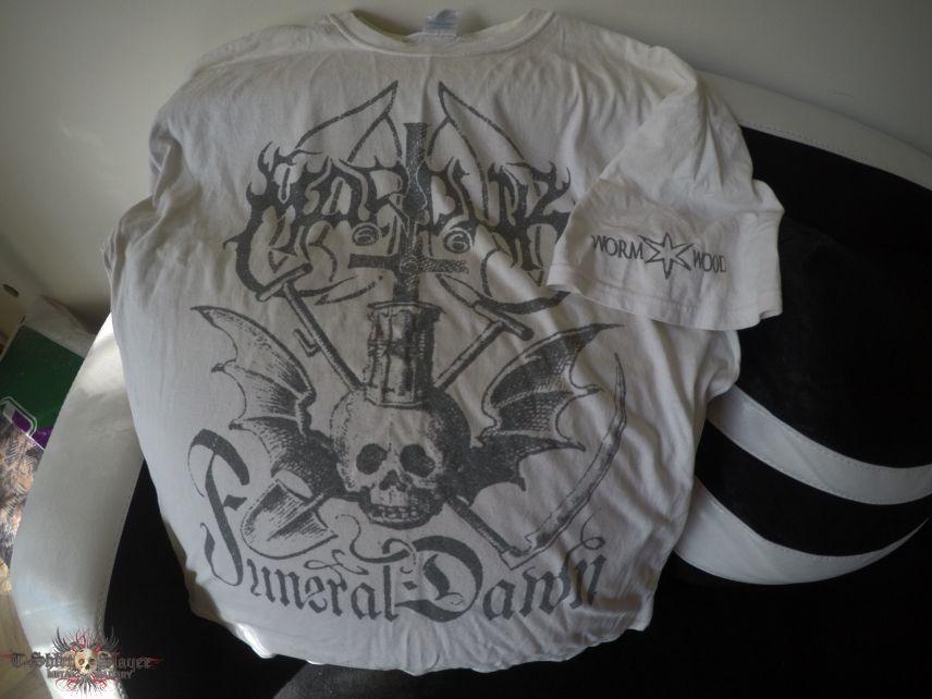 Marduk Funeral Dawn white T-Shirt