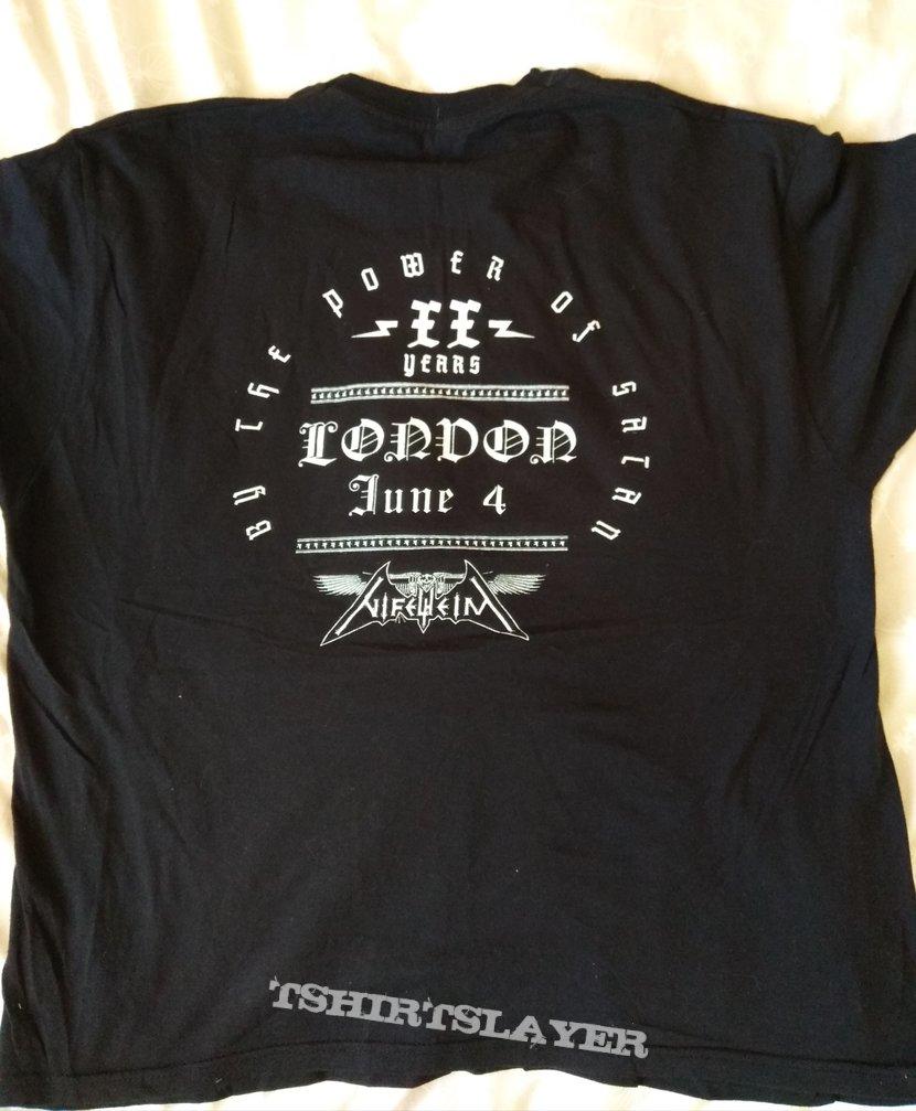 Nifelheim - XX years London event shirt