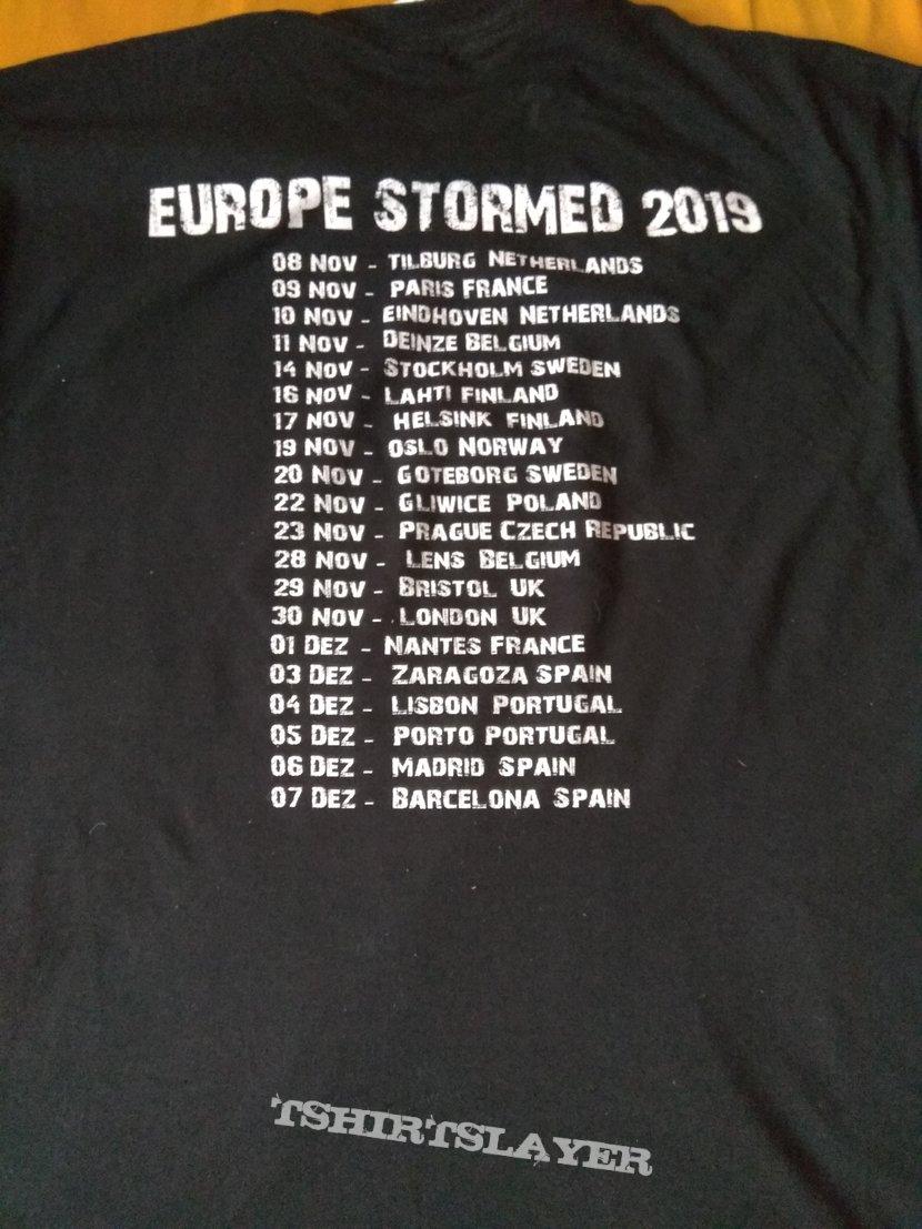 Vulcano - Europe Stormed tour shirt