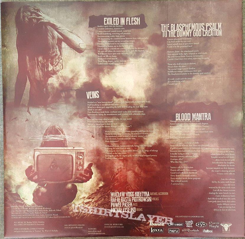 """Decapitated - """"Blood Mantra"""" Ltd Edition LP in Dark Green Vinyl"""