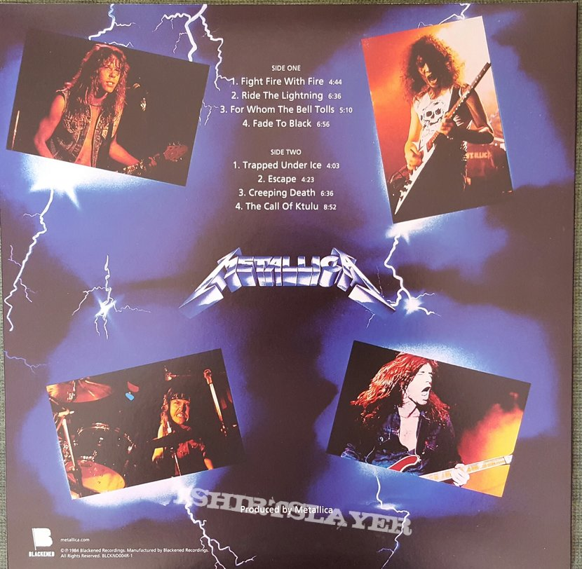 Metallica Quot Ride The Lightning Quot Deluxe Edition Box Set