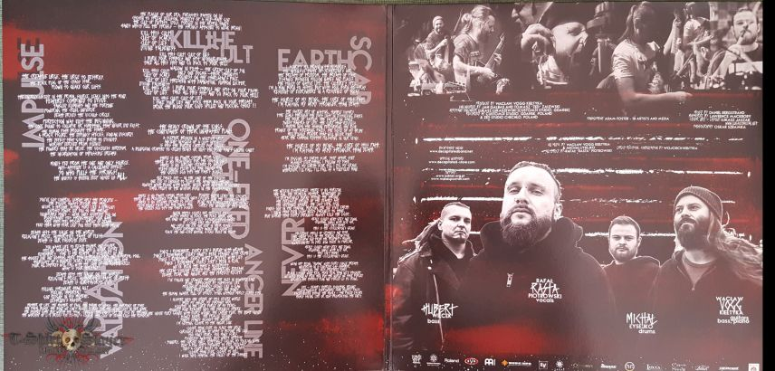 "Decapitated - ""Anticult"" Ltd Edition LP in Silver Vinyl"