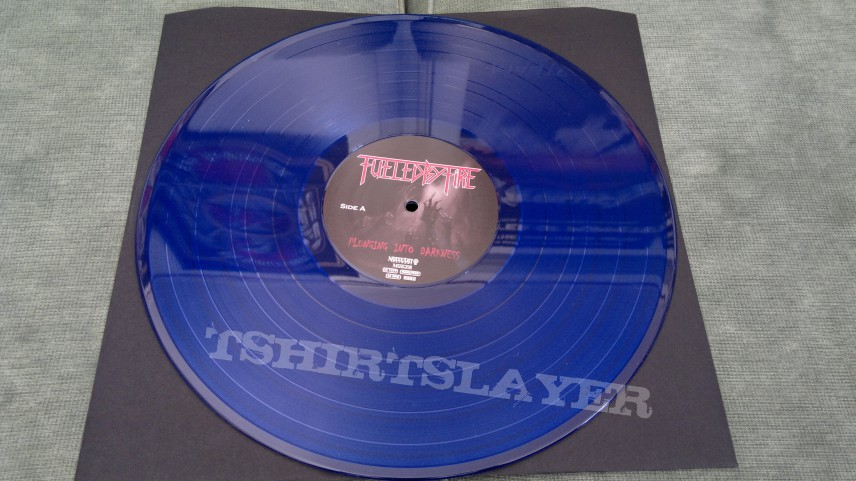 "Fueled By Fite - ""Plunging Into Darkness"" Gatefold LP in Blue Vinyl"