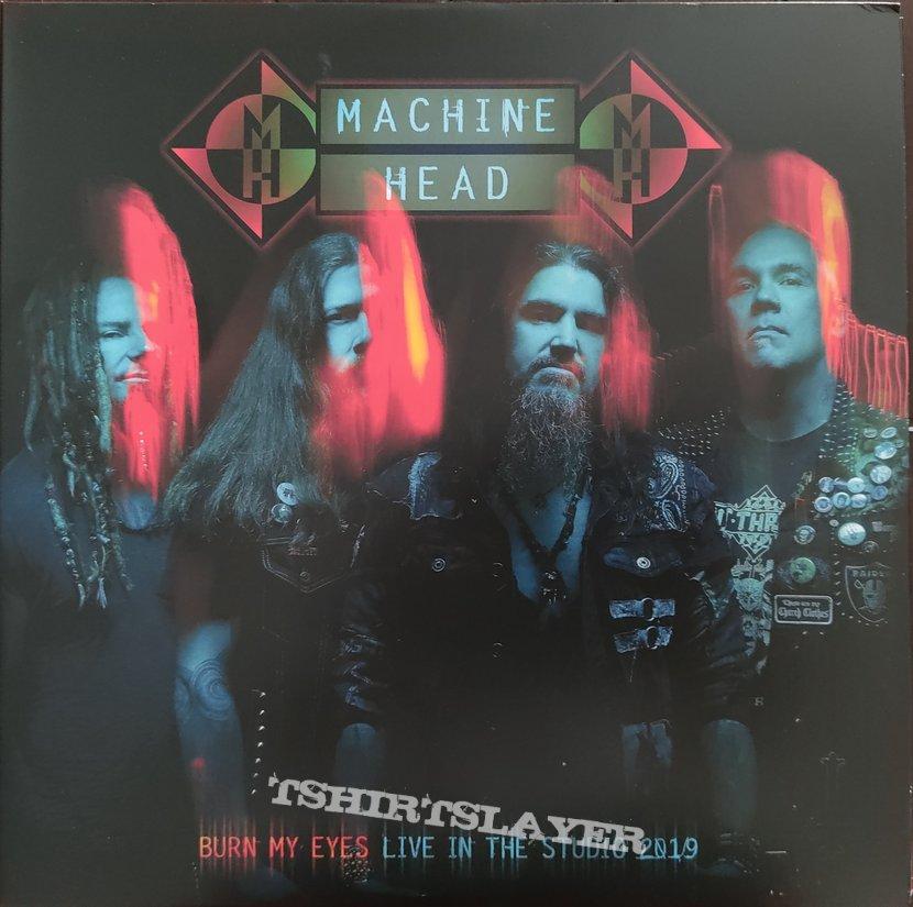 "Machine Head - ""Burn My Eyes: Live in the Studio 2019"" Ltd Edition Gatefold Red/Black Splatter Vinyl"